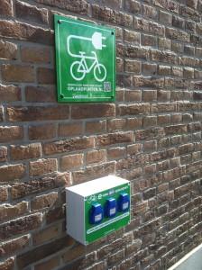 oplaadpunt fietsen