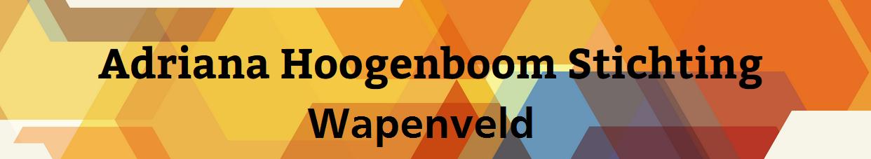 Adriana Hoogenboom Stichting Wapenveld